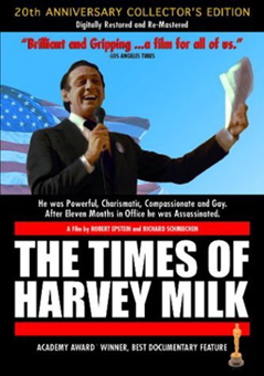 The times of Harvey Milk - L'affiche du film